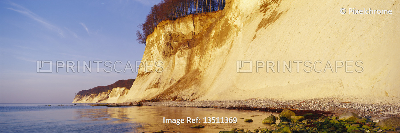 The Chalk Cliffs of Rugen Rugen Island, Germany